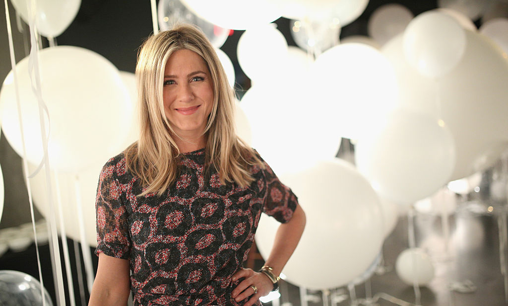 February 23: Hello gorgeous! Smartwater sparkling hosted a dinner for brand ambassador Jennifer Aniston at the W Hollywood to celebrate the actress' partnership with St. Jude Children's Hospital.