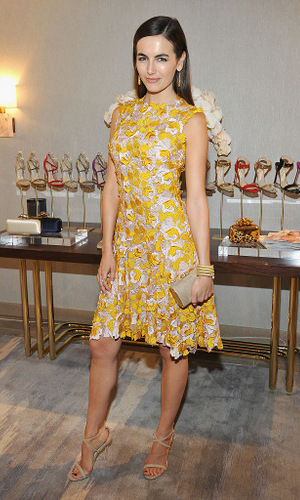 February 23: Actress Camilla Belle looked sunny and chic at InStyle And Jimmy Choo's Girls Night, hosted by Jimmy Choo's Creative Director Sandra Choi.