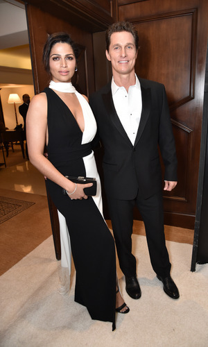 February 25: It was date night for Camila Alves and Matthew McConaughey. The Oscar winner was honored by Ketel One vodka at the 3rd Annual Unite4: Humanity Gala for his humanitarianism within the community.