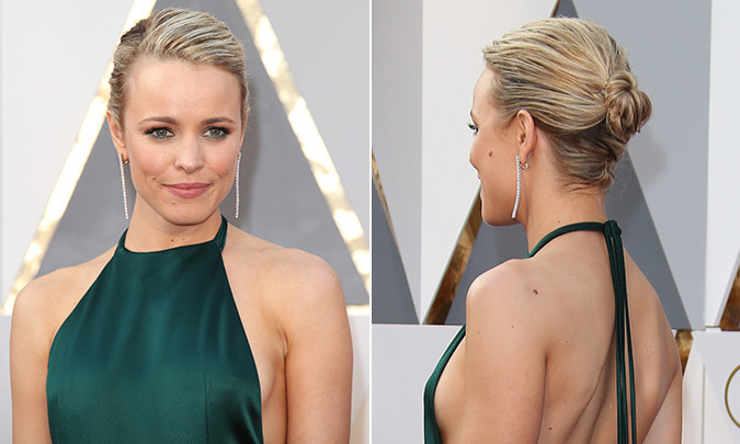 Steal her style: Get Rachel McAdams chic Oscars hairstyle