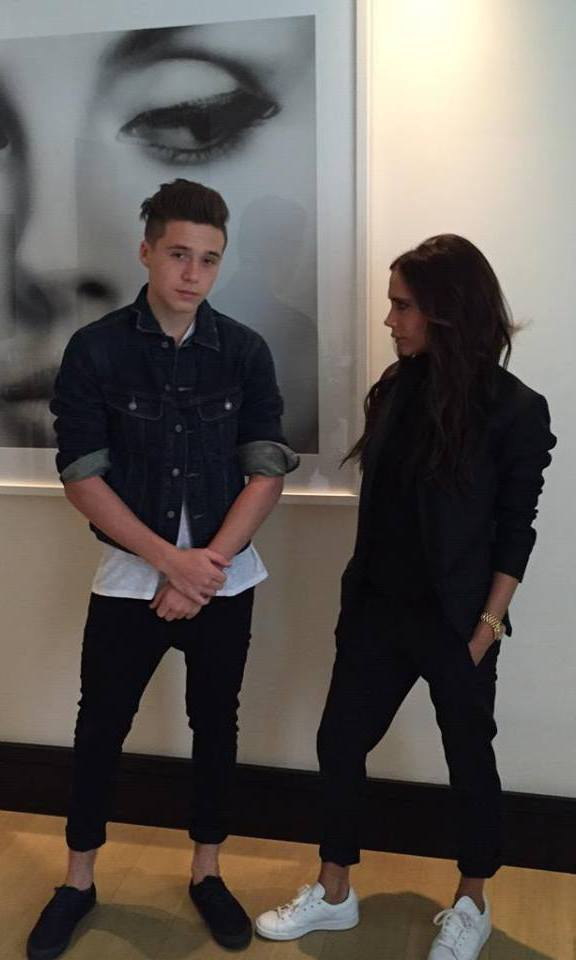 Victoria Beckham Says Goodbye To Heels Her Top Flat