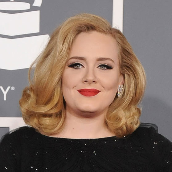 "The singer surprised fans when revealed a lighter hairstyle at the Grammy 2012 awards. Hair colorist Lucy Holbrook at London's Daniel Galvin salon explained to People why the ""Rolling In The Deep"" singer decided to make the change. ""We decided to color Adele's hair a honey-colored blond as it suited her complexion and really brought out the color of her eyes.""
