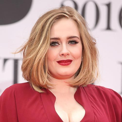 Matching her bright red lipstick with her stunning red floor-length dress, the singer teased her higlighted locks into an effortless bob to walk the red carpet at the 2016 BRIT awards.