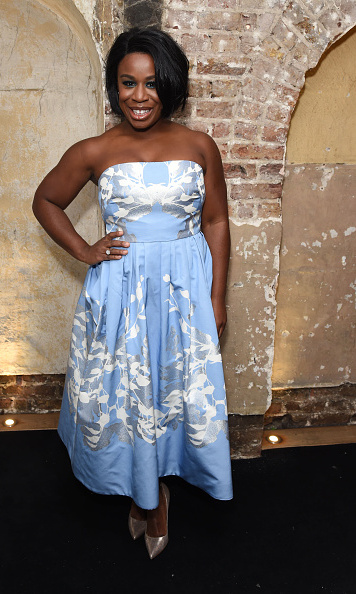 February 29: What a night! Uzo Aduba attended the after party for her new play <i>The Maids</i> at the Adam Street Club in London. 
