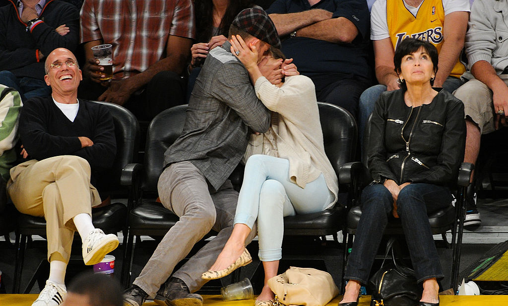 "*Le sigh* The ""Mirrors"" singer wasn't afraid to show a little public display of affection at a 2012 basketball game when it came to Jessica.  