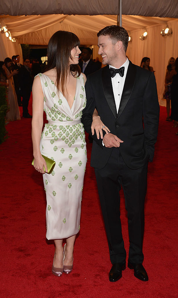 The fashionable pair only had eyes for each other at the 2012 Met Gala.
