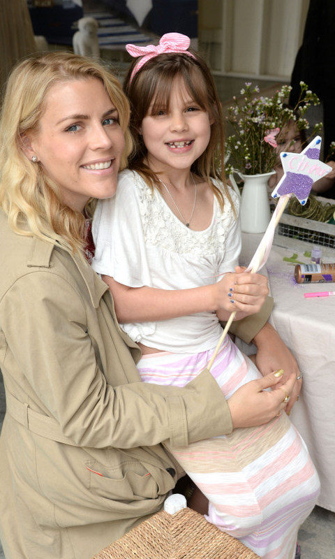 March 5: She's a star! Busy Phillips and her daughter Birdie had a fun day out at the Monique Lhuillier for Pottery Barn Kids Collection launch at Hollywood's Lombardi House.
