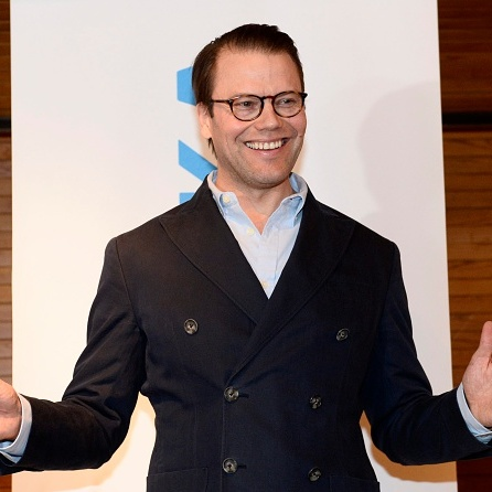 It's a boy! An overjoyed Prince Daniel announced the arrival of his and Crown Princess Victoria's son Prince Oscar at a news conference held at Karolinska hospital.