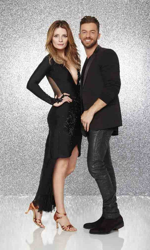 Mischa Barton and Artem Chigvintsev