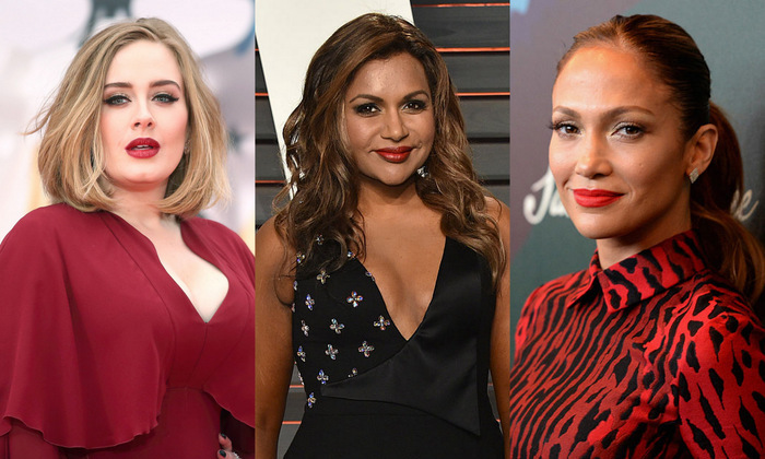 Like many of us, stars face insecurities with their own bodies. From Adele to Chrissy Teigen and Mindy Kaling, here are celebrities we love for their positive body images.
