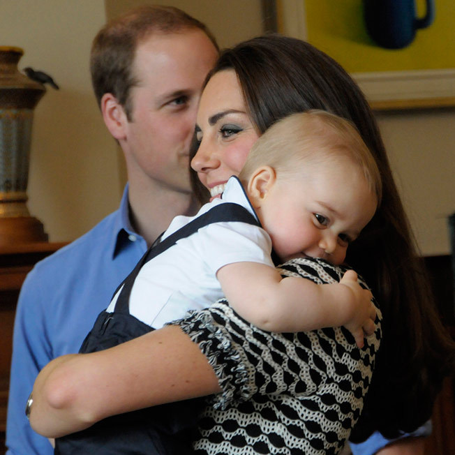 Kate later revealed that this photo, taken during the playdate, was her favorite of George taken to date.