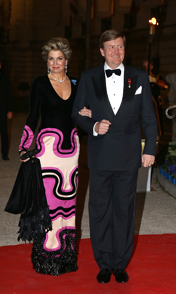 Queen Maxima of the Netherlands with husband King Willem-Alexander