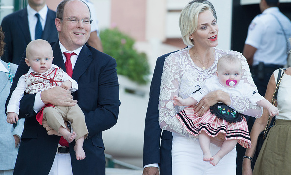 August 2015: Prince Jacques and Princess Gabriella sported their best traditional looks for a public picnic in Monaco.