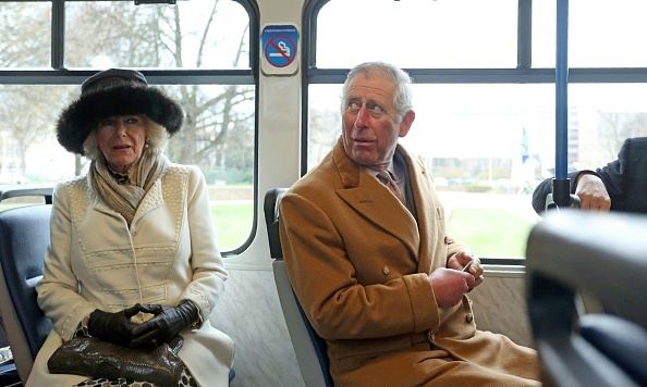 All aboard! While in Croatia, the Duchess of Cornwall and Prince Charles made their way to Osijek Cathedral in a tram.