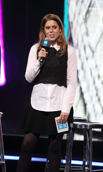Princess Beatrice stepped out to commemorate WE Day, which is a celebration of youth making a difference in their communities.