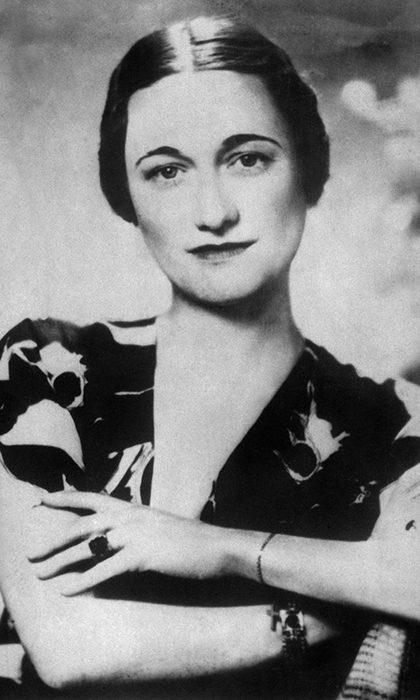 <b>WALLIS SIMPSON, THE DUCHESS OF WINDSOR</B>