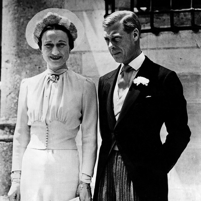 By the time Wallis first met the then Prince of Wales, she was married to her second husband, London-based shipping executive Ernest Simpson. The occasion was a hunting weekend, hosted by his mistress Lady Furness. Due to a bad cold, Wallis and the Prince hardly spoke, but there were other house parties and soon Wallis' wit won her a place in the Prince of Wales' heart. 