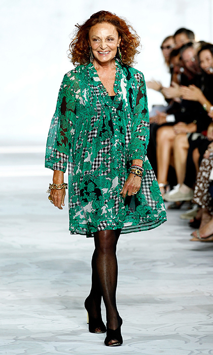 <b>DIANE VON FÜRSTENBERG, FORMERLY PRINCESS DIANE OF FÜRSTENBERG</B>
