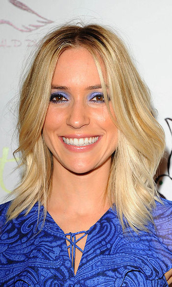 Kristin Cavallari looks like she's come from <i>Laguna Beach</i> with these loose, beachy waves.