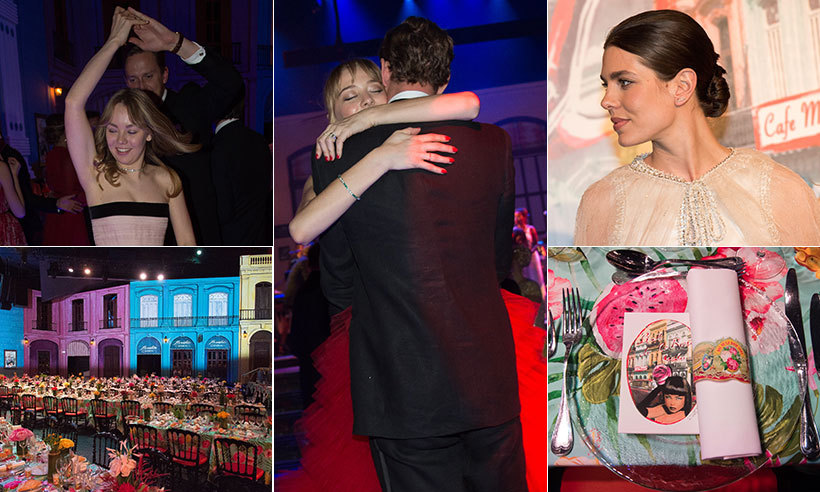 It was a night packed full of glitz and glamour - take a look at all the best moments on and off the dance floor, inside the dazzling and stylish Monaco Rose Ball. 
