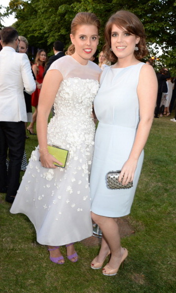 Sisters Princess Beatrice and Eugenie complemented each other in subtle, chic dresses at the Serpentine Gallery Summer Party in 2014.