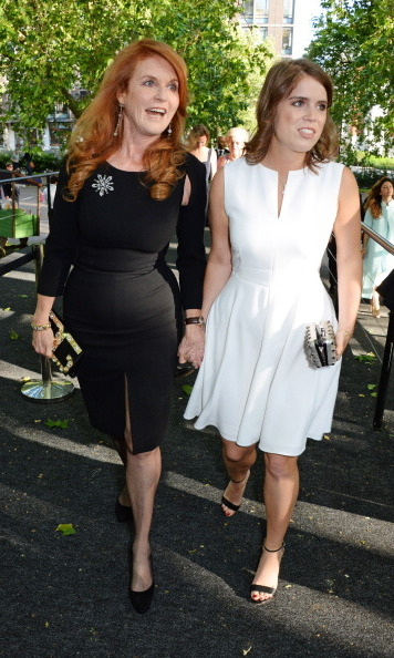 Her mom Sarah, Duchess of York and Princess Eugenie proved to be a stylish mother-daughter pair at the Art Antiques London Gala Evening in aid of Children In Crisis held at Kensington Gardens.