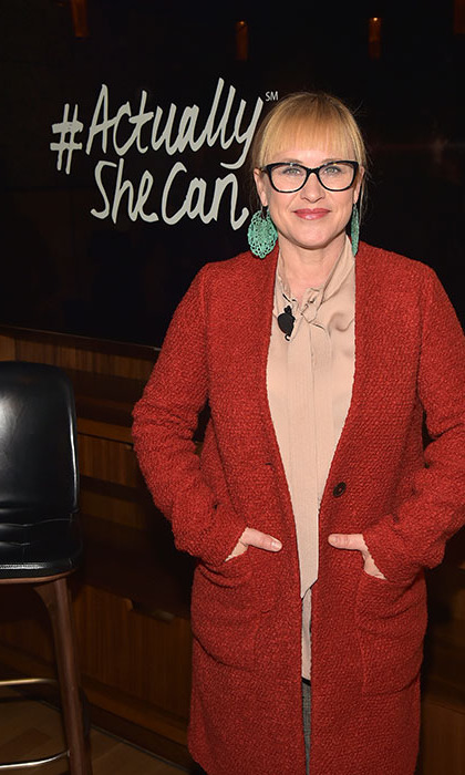 March 23: She can and she did! Patricia Arquette hosted the ActualySheCan event in NYC.