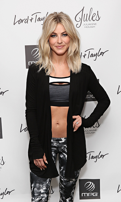 March 23: Fit and fab! Julianne Hough showed off her newest line of MPG Activewear during the celebration of her collaboration at Lord & Taylor in NYC. 