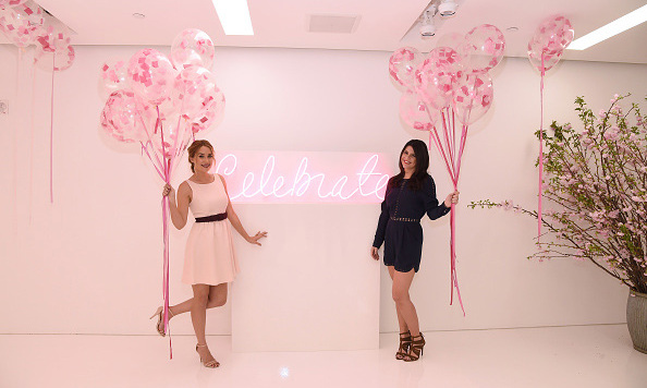 March 23: Lauren Conrad and Leslie Bruce attended the celebration for the <i>Lauren Conrad Celebrate<i> book release in NYC. 