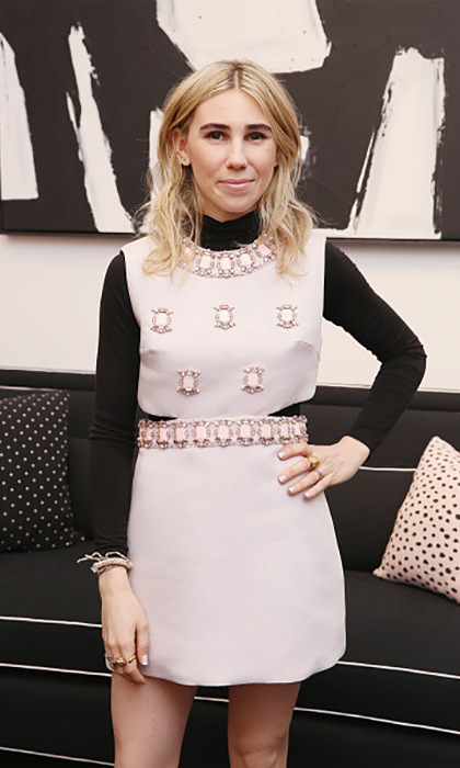 "March 22: Zosia Mamet attended the Kate Spade New York ""Housewarming"" pop-up shop celebration in NYC.