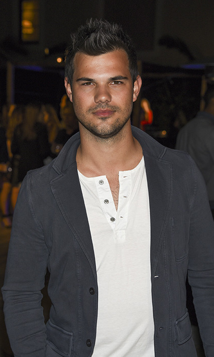March 22: Taylor Lautner was generous with his looks at the Generosity Water launch event in Beverly Hills. 