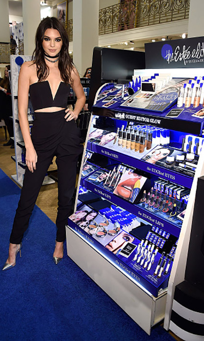March 22: Go Kendall! The supermodel looked fierce during the Estee Edit By Estee Lauder at Sephora Fifth Avenue in NYC. 