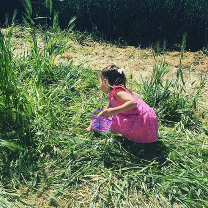 "Jenna Dewan-Tatum's daughter Everly was eager to start searching for some Easter Eggs. ""Early Easter Eggs,"" wrote the actress.