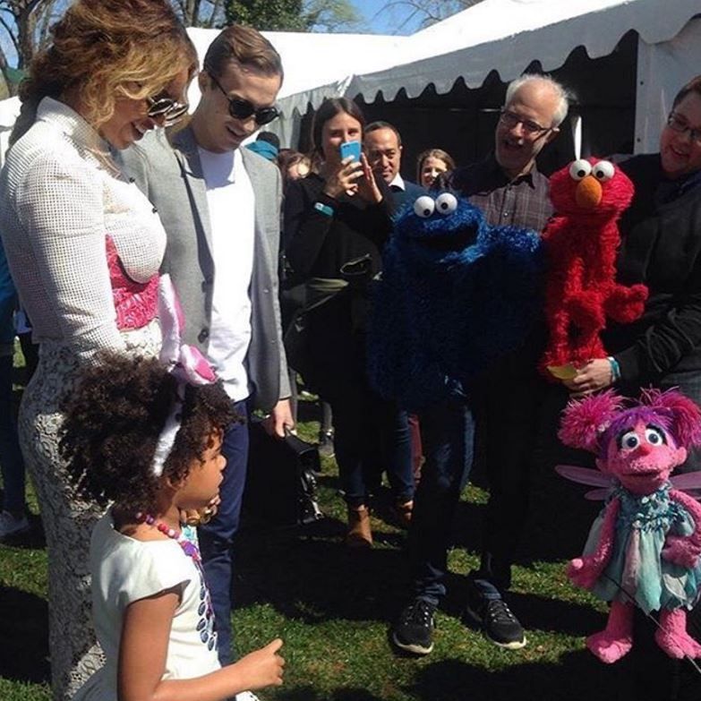 Beyonce and Blue Ivy spent their Easter Monday at the White House for the annual Easter Egg Roll.