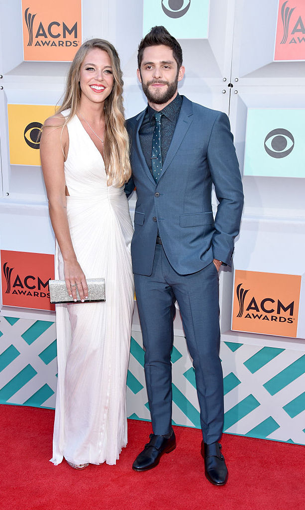 Thomas Rhett with Lauren Gregory
