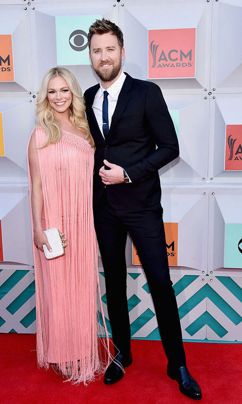 Charles Kelley with wife Cassie