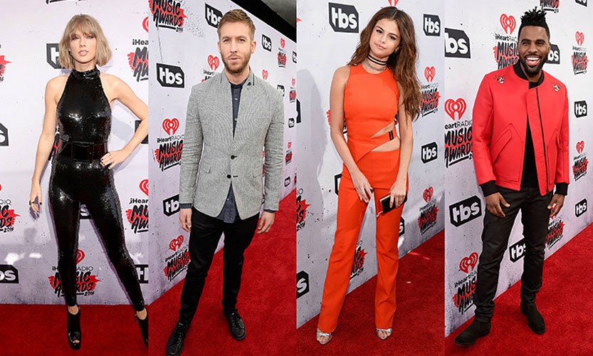 It's all about music and the fans! The stars had some fun with their fashion for the iHeartRadio Music Awards. Here is a look at the best red carpet style. 
