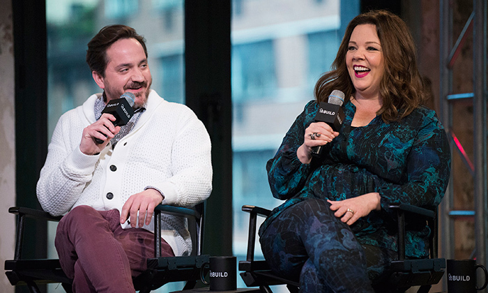 Melissa McCarthy and husband Ben Falcone talk fashion family life