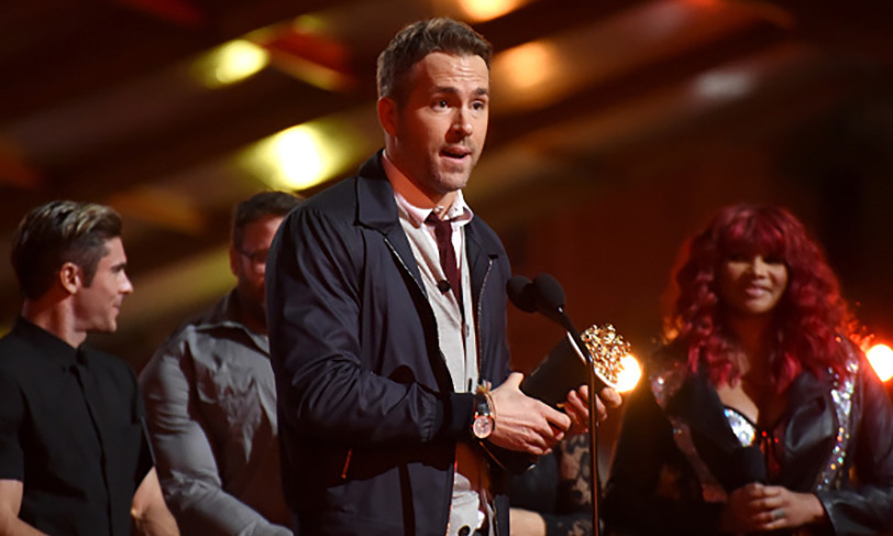 "<i>Deadpool</i>'s Ryan Reynolds gave us all relationship goals on Sunday evening as he took home the award for Best Comedic Performance. The actor gave wife Blake Lively a special shoutout saying, ""Everything I do is to make her laugh.""  