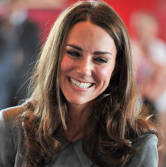 The Duchess let her hair down with a slight side part for a trip to the Canadian War Museum.