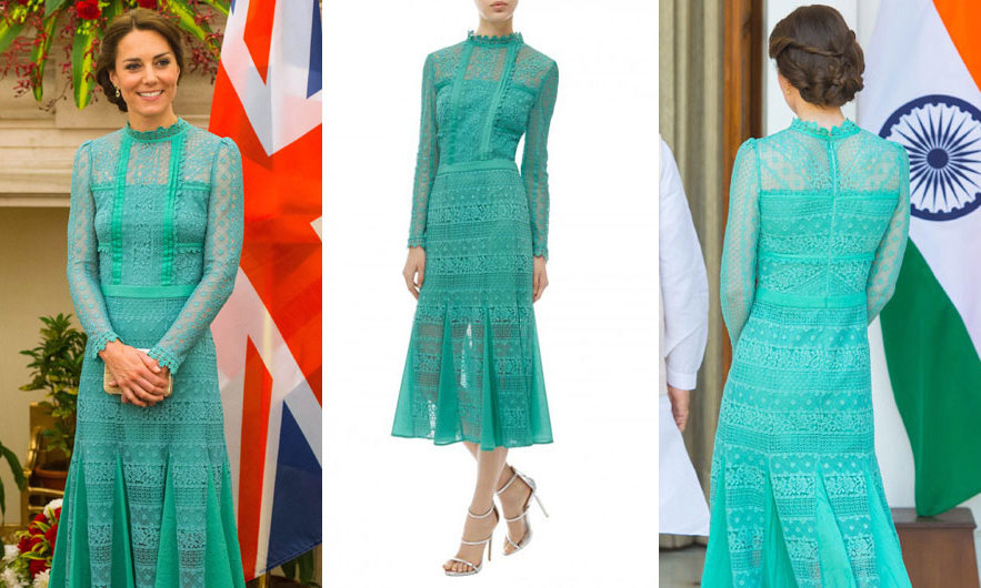 Kate Middleton style: Duchess stuns in lace Alice Temperley dress