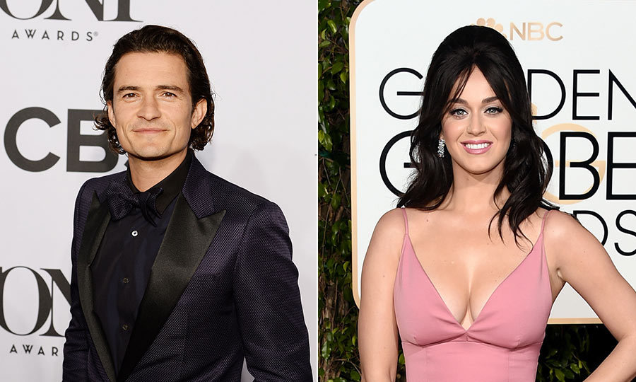 Katy Perry and Orlando Bloom attend a star-studded wedding ...