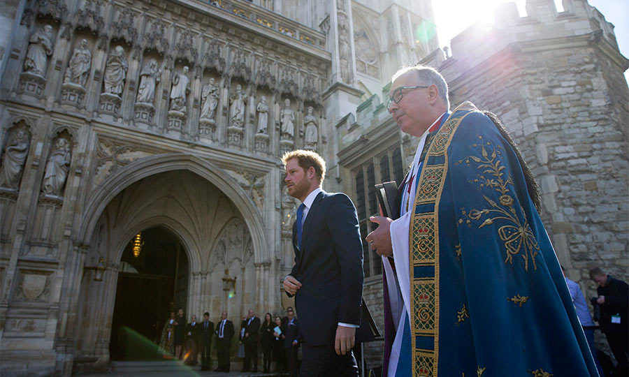 Stepping in for his grandmother Queen Elizabeth, Prince Harry attended a service of commemoration at Westminster Abbey for the victims of the 2015 terrorist attacks in Tunisia.