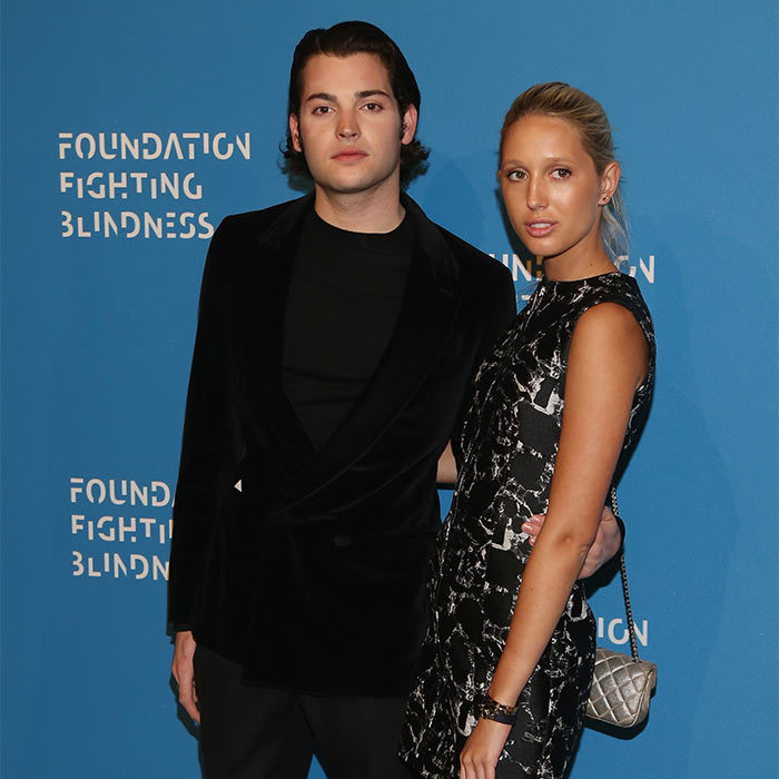 Showing off her tan from her recent vacation to Cuba, Princess Olympia of Greece stepped out with Peter Brant II at the Foundation Fighting Blindness World Gala in New York City.