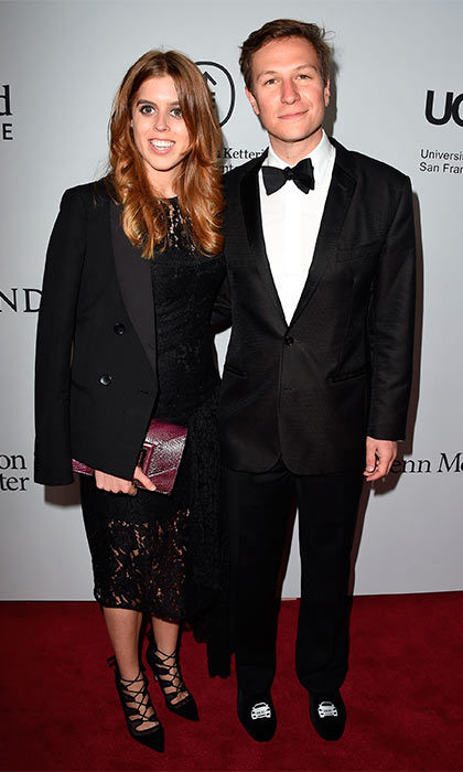 Princess Beatrice took along her boyfriend Dave Clark as her date to the the Parker Institute For Cancer Immunotherapy Gala hosted in Los Angeles.
