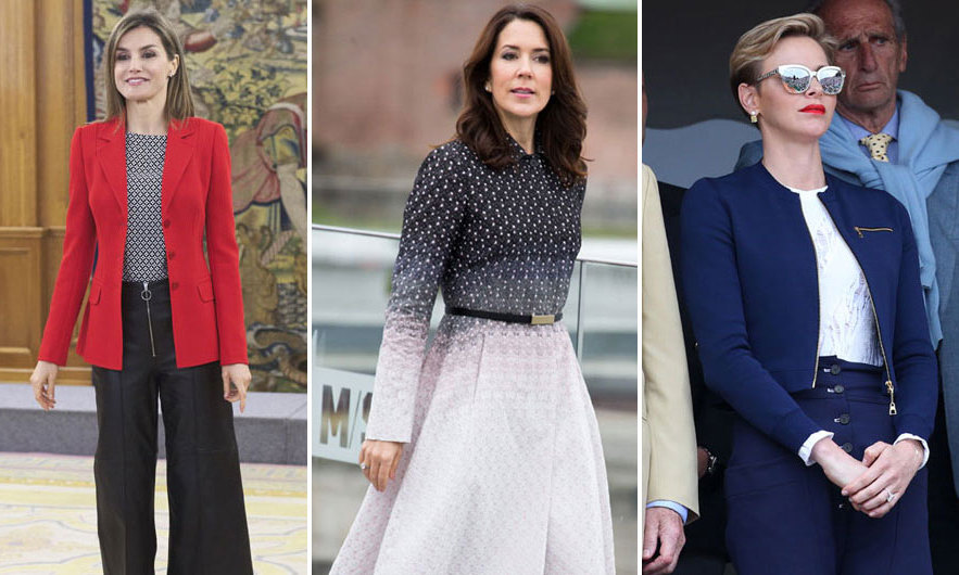 From the ever chic Queen Letizia to the bold looks of Princess Charlene, here are the best looks from royals over the past week.