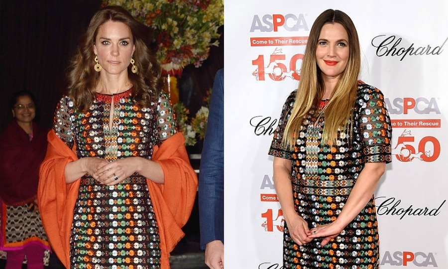 Tory Burch talks Kate Middleton and Drew Barrymore\'s twinning moment