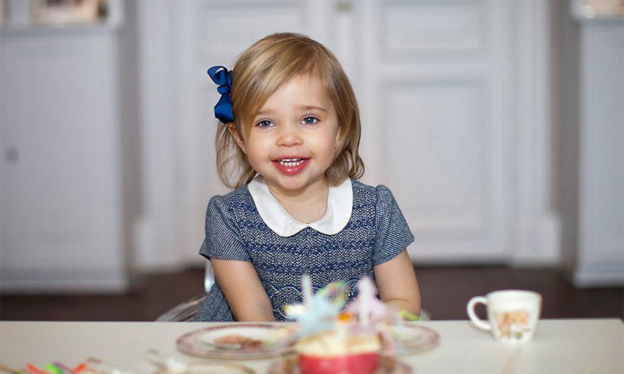 The young Princess is growing up so fast! The little girl looked adorable in photos shared from her second birthday tea party. 