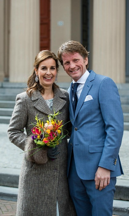 Princess Anita and Prince Pieter Christiaan of the Netherlands were among extended royal family members who stepped out for the King's Day celebrations.