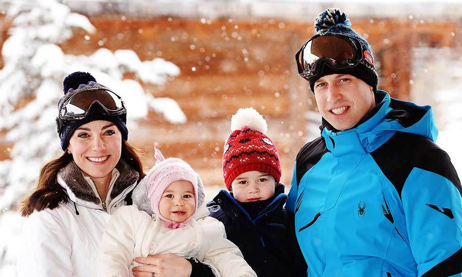 "At 10-months-old, Princess Charlotte <a href=""https://us.hellomagazine.com/royalty/02016030724140/kate-middleton-prince-william-prine-george-princess-charlotte-ski-trip/""><strong> enjoyed her first trip abroad with her parents and brother George.</strong></a> The royals traveled to the French Alps for their first holiday as a family of four and the snowy getaway was captured by Press Association photographer John Stillwell.